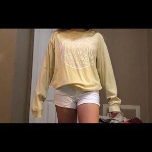 Yellow Beach Long Sleeve Shirt